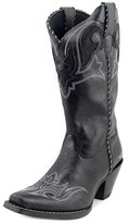 Durango Crush Women Pointed Toe Leather Black Western Boot.