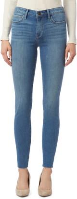 Sam Edelman The Kitten Raw Hem Ankle Skinny Jeans