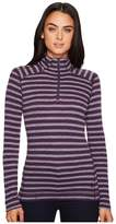 Smartwool NTS Mid 250 Pattern Zip Top Women's Long Sleeve Pullover