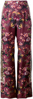 F.R.S For Restless Sleepers - floral printed palazzo trousers - women - Silk - S
