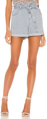 MinkPink Tammi Paperbag Shorts. - size M (also