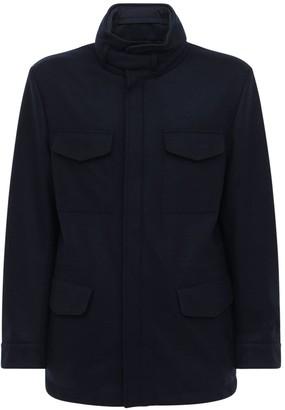 Loro Piana Reversible Cashmere Windbreaker Jacket