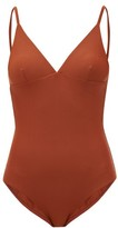 Matteau - The Plunge Swimsuit - Womens - Dark Red