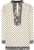 Tory Burch Tory sequinned printed tunic
