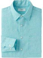 Uniqlo Men's Premium Linen Long Sleeve Shirt