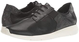Sesto Meucci Comely (Black Lopy Nappa/Black Enne Print) Women's Shoes