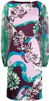 Emilio Pucci Vahine Print belted dress