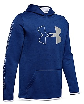 Under Armour Boys' Logo Fleece Hoodie - Big Kid