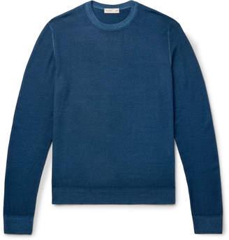 Etro Garment-Dyed Merino Wool Sweater