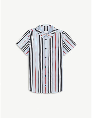 Burberry Fred checked cotton shirt 3-14 years