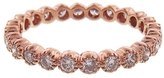 Sethi Couture Pink Diamond Bezel Set Band Ring - Rose Gold