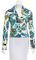 Emilio Pucci Patterned Lightweight Jacket