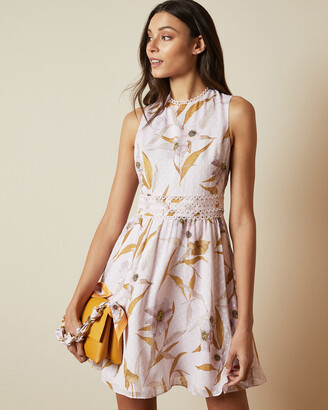 Ted Baker RONTIE Cabana print skater dress