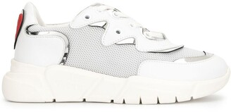 Love Moschino Mesh Chunky Sole Sneakers