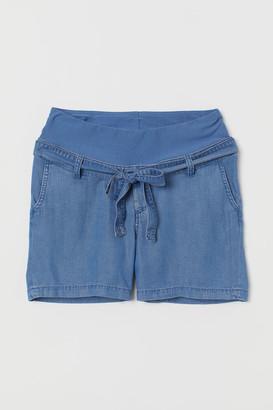 H&M MAMA Lyocell shorts