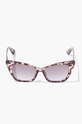 Forever 21 Cat-Eye Tortoiseshell Sunglasses