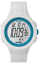 Timex Unisex Ironman White Silicone Chronograph