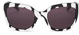 Moschino Retro Cat Eye Sunglasses, 56mm