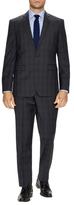 Vince Camuto Wool Plaid Suit