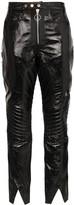 Marques Almeida Marques'almeida high-waist biker-style trousers