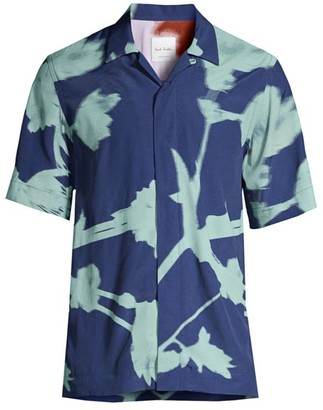Paul Smith Floral Camp Shirt