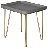 Tyndall Wooden End Table Wrought Studio