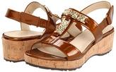 Taryn Rose Noel (Mocha Mirror Patent Leather) - Footwear