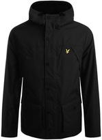 Lyle & Scott Full Zip Fleece Lined Jacket Black