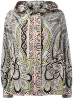 Etro paisley print hooded jacket - women - Polyamide/Polyester - 46