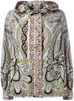 Etro paisley print hooded jacket