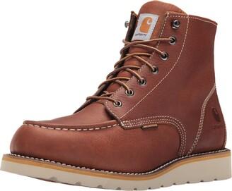 "Carhartt Men's 6"" Waterproof Moc Toe Casual Wedge Work Boot"
