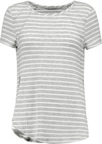 Tart Collections Liane striped stretch-modal jersey T-shirt