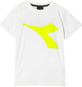 Diadora White Teen T-shirt