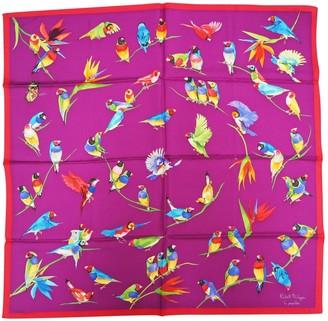 Patek Philippe Purple Silk Scarves