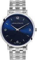 Larsson & Jennings Lugano Vasa stainless steel watch