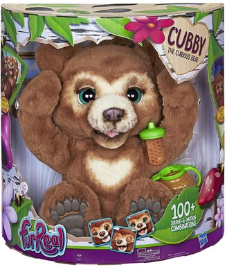 Furreal Friends FurReal Cubby, the Curious Bear Interactive Plush Toy