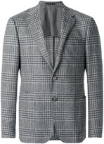 Z Zegna plaid suit jacket - men - Polyamide/Cupro/Wool - 48