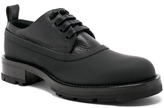 Marni Lace Up Leather Dress Shoes in Black.