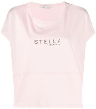 Stella McCartney boxy logo T-shirt