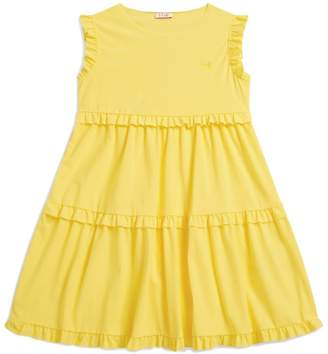 Il Gufo Tiered Ruffle Dress