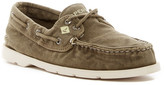 Sperry Leeward Washed Canvas Boat Shoe