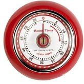 Eddingtons Magnetic Retro Timer, Red