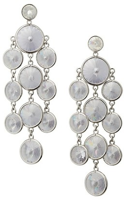 Kate Spade Sparkling Disc Chain Chandelier Earrings