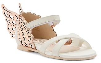 Sophia Webster Baby's & Little Girl's Evangeline Leather Wing Sandals