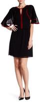 Vivienne Tam Ruffle Sleeve Dress
