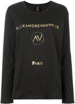 Alexandre Vauthier logo print T-shirt
