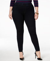 Hue Plus Size Curvy Denim Leggings
