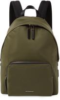 Burberry Embossed Logo Backpack