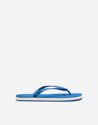 Dolce & Gabbana Rubber Thong Sandals