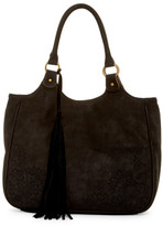 T-Shirt & Jeans Perforated Hobo